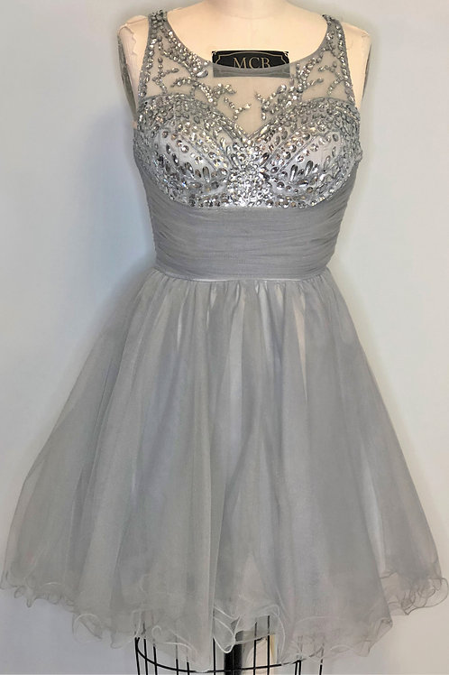 Gray Tulle - Size 6