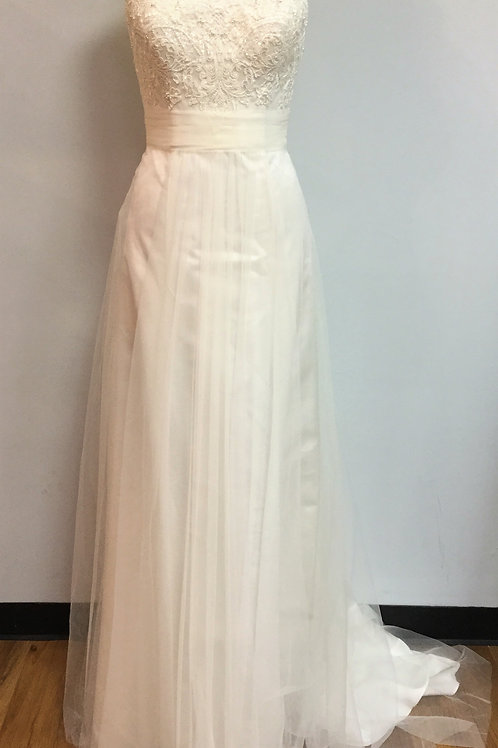 Ivory Wedding Gown - Size 8