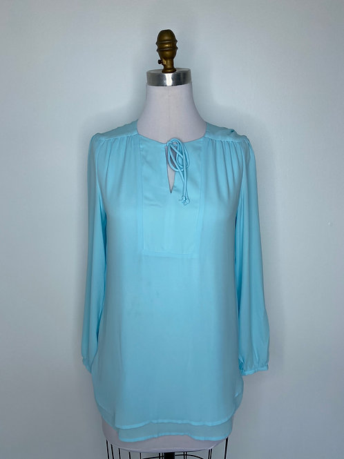 Chico's Blue Top Size 0