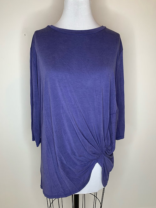 Blue Top - Size Large