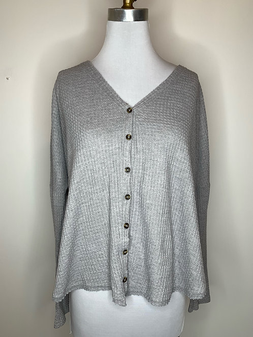 Gray Top - Size Medium