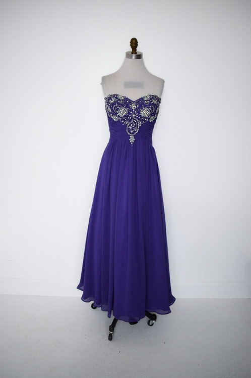 Beaded Purple - Size 8
