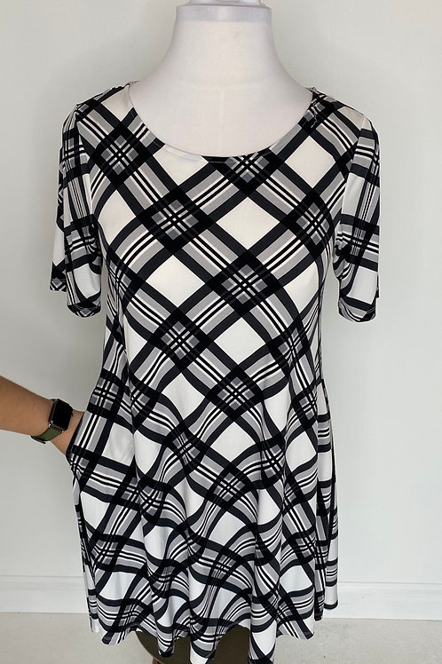 Plaid dress size 14