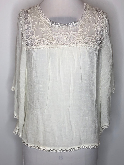 Ivory Shirt Small