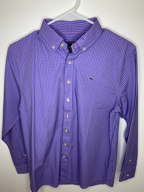 Vineyard Vines Dress Shirt - Boys Size L