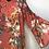 Thumbnail: Floral Peach Blouse Large