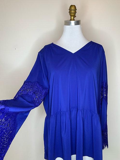 Royal Blue Top - Size 18