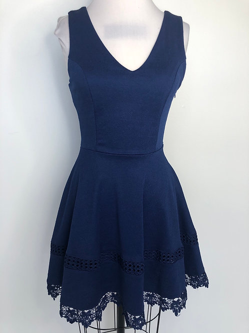 NEW! Blue Dress Size XS 2/4