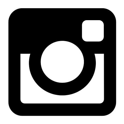Vinyl Instagram Window Logo