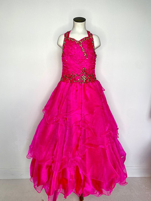 Ritzee Girl Hot pink Girls Pageant - Size 6
