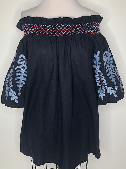 Navy Top Size Large