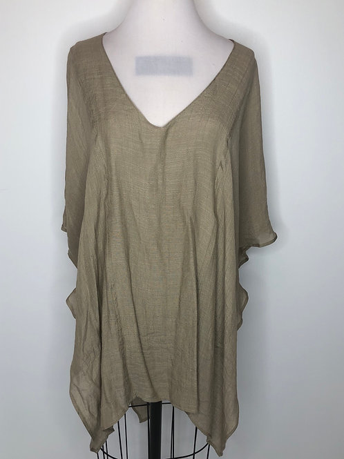 NEW! Taupe Shirt Large