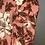 Thumbnail: NEW! Ann Taylor Floral Peach Blouse XL