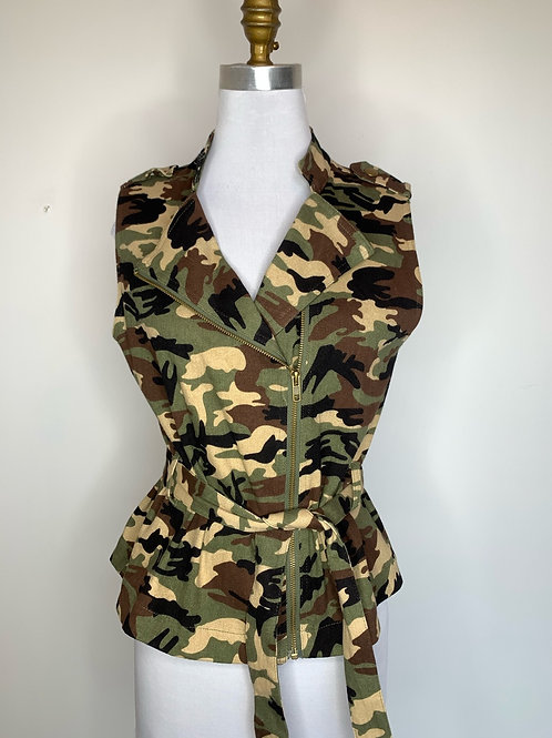 Umber Camo Vest - Size medium