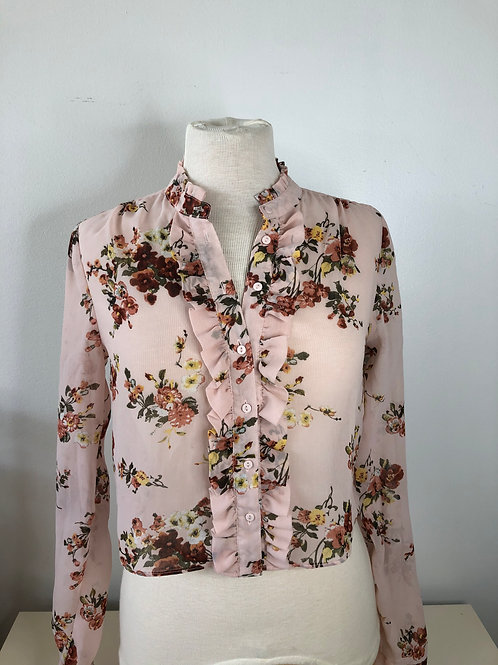 Blush Floral Top Small