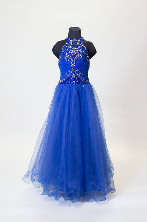 Royal Blue Tulle - Size 8