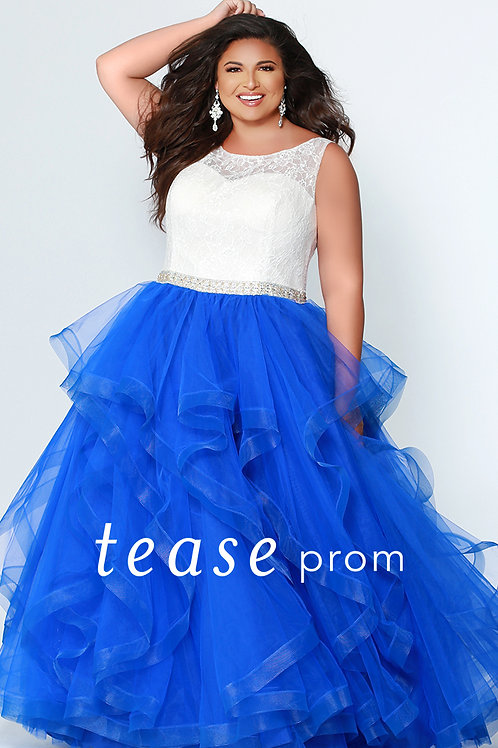 Tease Prom Blue Tulle - Sizes 14-32