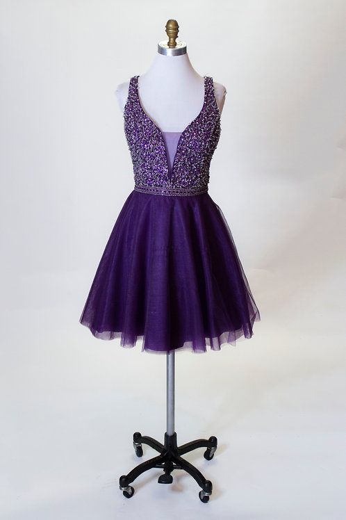 Purple Short - Size 16