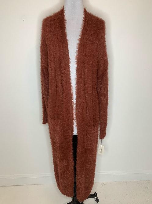 New Brown Cardigan - Size Medium