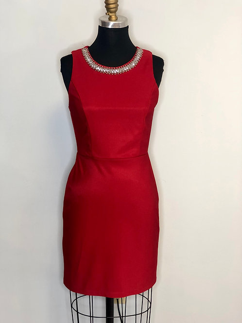 Red Fitted - Size 4