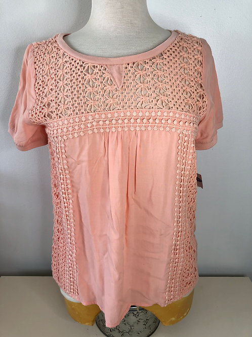 NEW! Peach Top Size Small