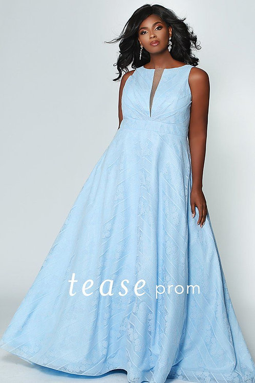 Tease Prom Lace Gown - Sizes 14-32