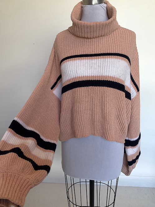 Striped Sweater - Large