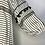 Thumbnail: Black and Ivory Blouse XL