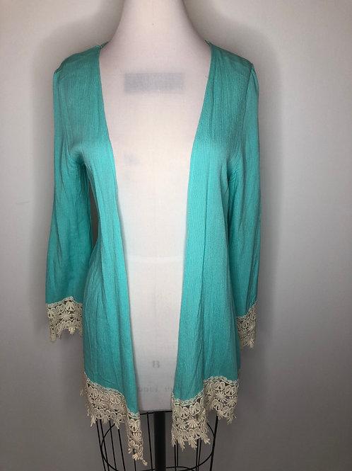Turquoise Kimono Small