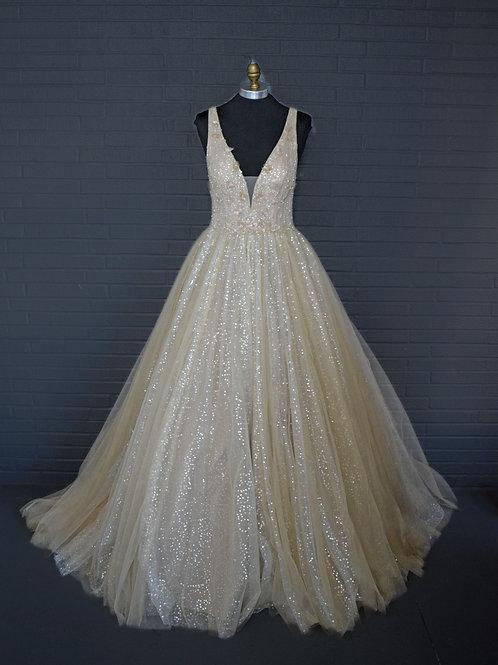 Sherri Hill Gold Ballgown - Size 6