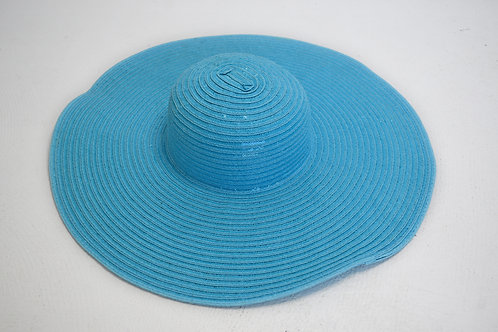 Teal Derby Hat