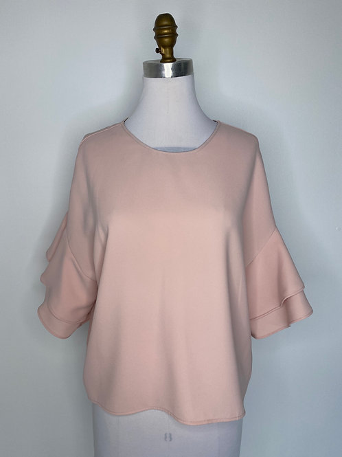 Zara Blush Top Size Medium