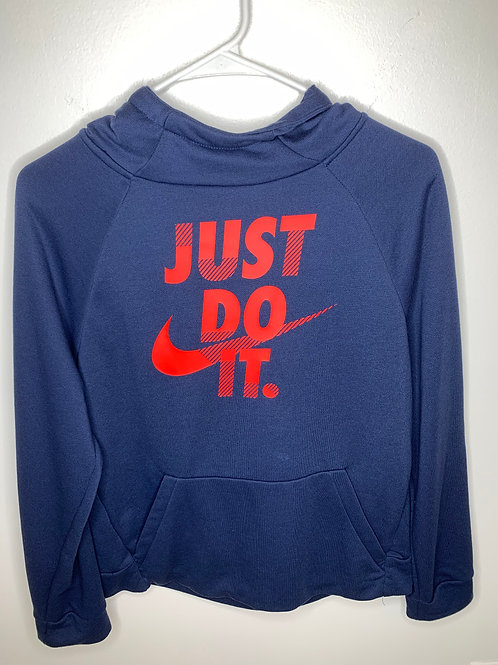 Nike Navy Hoodie Boys - Size XL