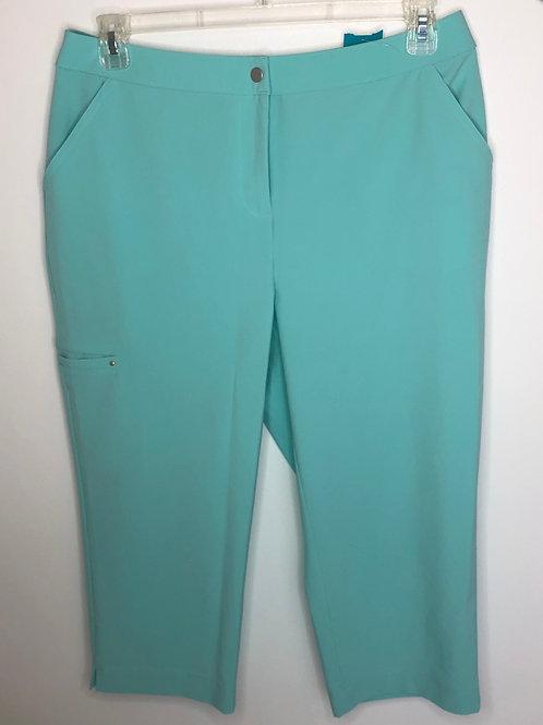 Chico's Turquoise Capri Size 2