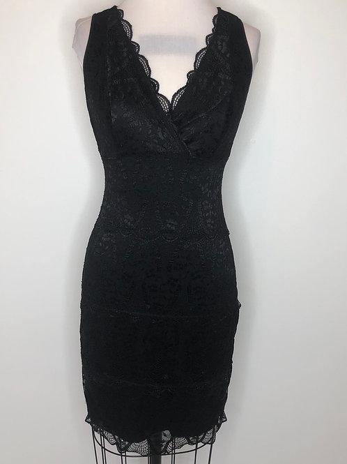 Black Lace Dress Size 4