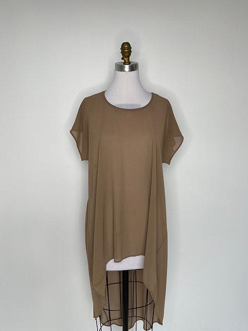 Brown top Size medium