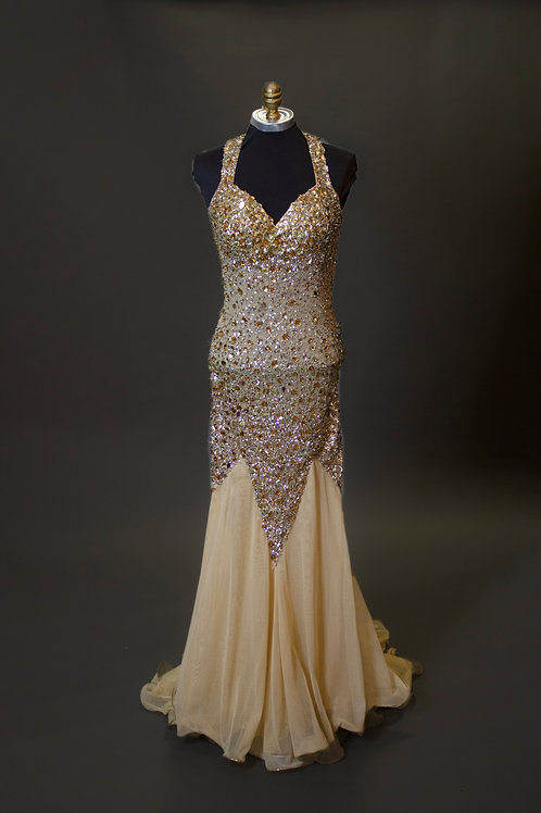 Gold Beaded - Size 2