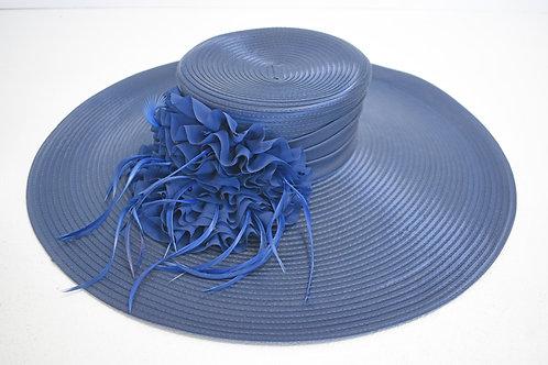 Navy Derby Hat