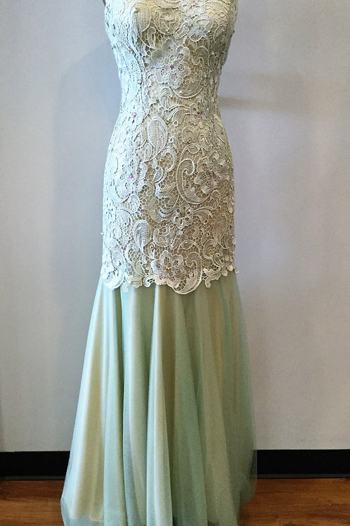 Green Lace - Size 10