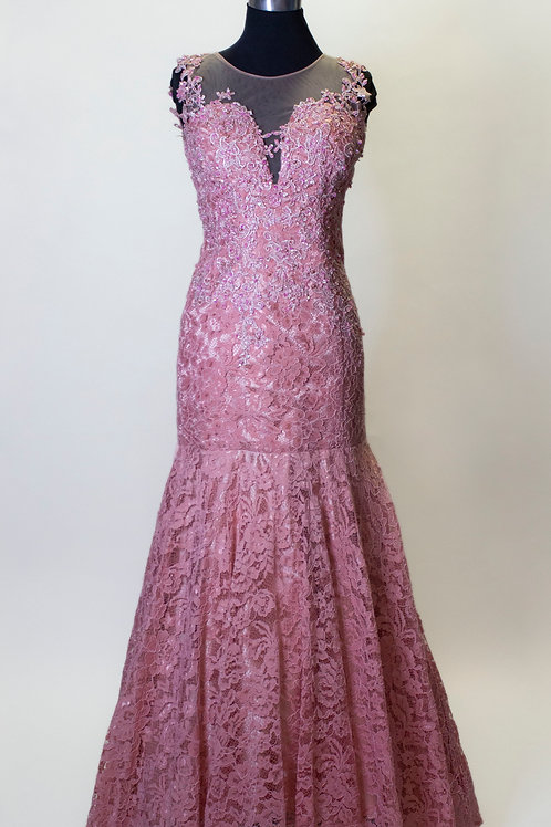 Pink lace - Size 10