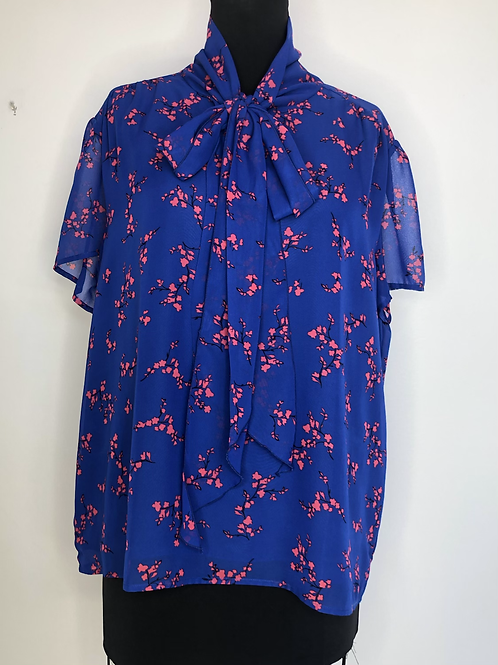 Ann Taylor Floral Blouse XL