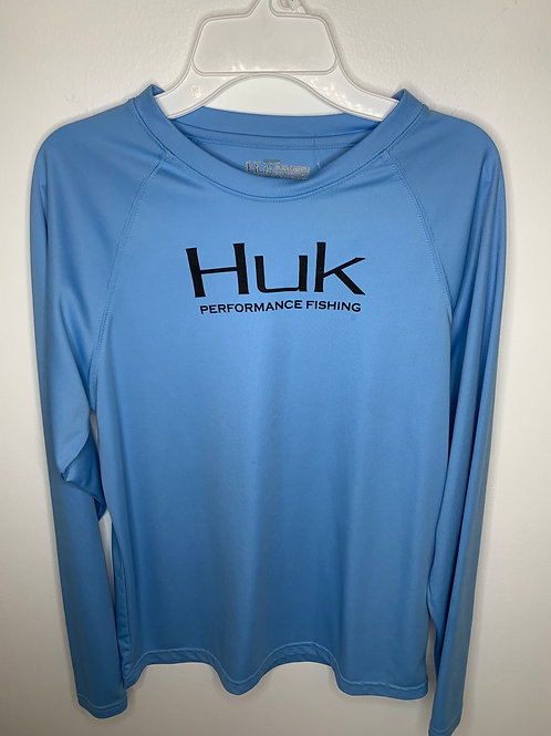 Blue Huk Shirt Boys -  Size YXL