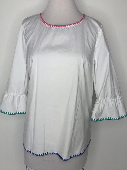 Talbot's White Shirt Large Petite