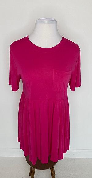 Hot pink dress size 14