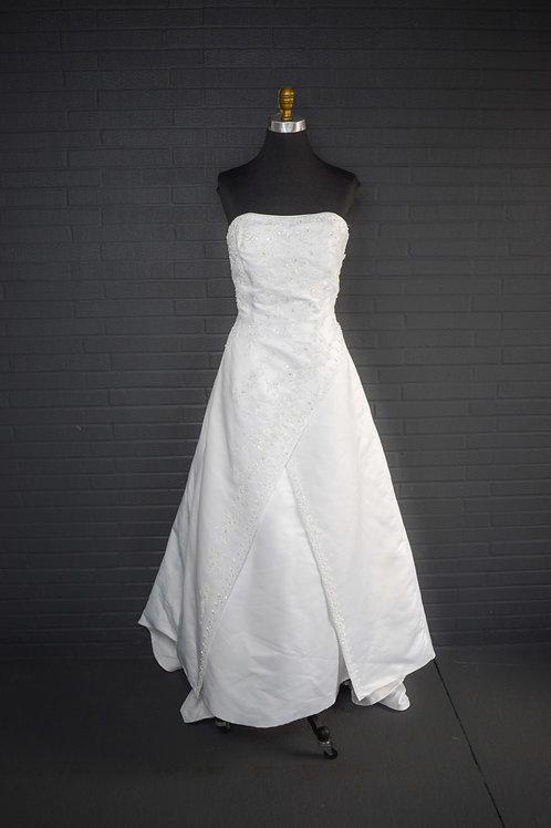 White Wedding Gown - Size 14