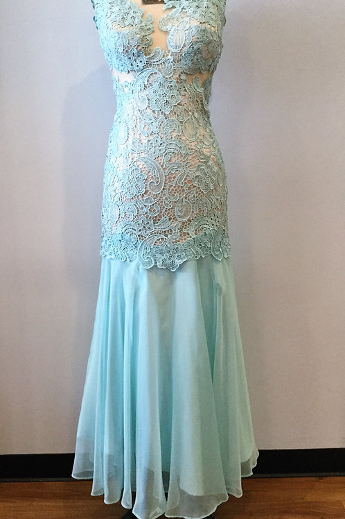 Mint Lace - Size 2