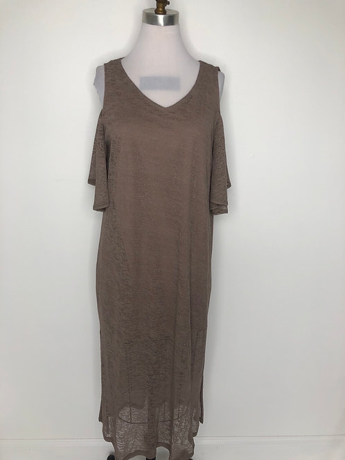 Brown Dress Size 12 Large