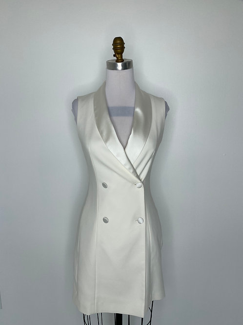 Zara Basic Ivory Dress Size 6