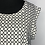 Thumbnail: Black and White Blouse Large