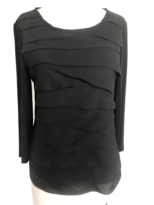 Chico's Black Shirt Size 1 Small